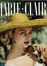 REVUE MARIE CLAIRE N°33 1957 sophia loren diana barrymore  MODE FASHION