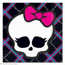 MONSTER HIGH SMALL NAPKINS (16) ~ Birthday Party Supplies Cake Dessert Beverage