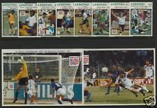 Lesotho 997-1006 MNH Sports, Soccer