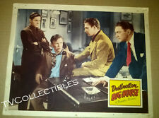 11x14 Lobby Card~ DESTINATION BIG HOUSE ~1950 ~Jimmy Lydon ~Mickey Knox