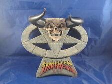 Legend demon skull painted resin model kit rare wall hanger darkness OOP RARE