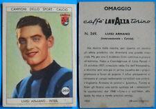 RARA FIGURINA CARTONATA LAVAZZA INTER ANNI 50 - ARMANO - N. 269