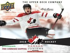 2016-17 16/17 Upper Deck UD Team Canada Juniors Woman Base #1-100 You Pick
