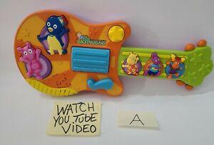 Fisher Price Nick Jr. The Backyardigans Sing & Strum Guitar 2006 Mattel A Read⬇️