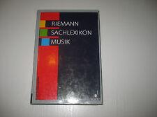 Riemann Sachlexikon Musik. Sonderausgabe von Hugo Riemann  (1996)