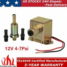Universal Electric Fuel Pump 12V 4-7Psi E8012S Petrol Diesel Fuel Delivery US