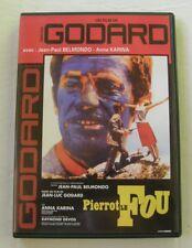 DVD PIERROT LE FOU - Jean Paul BELMONDO / Anna KARINA - Jean Luc GODARD