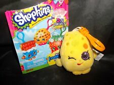 SHOPKINS SOFT PLUSH W/ CLIP** OPENED** BLIND BAG-DATED 2013-CHEE ZEE