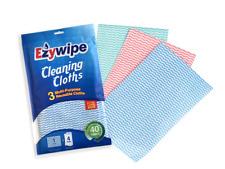 EZYWIPE CLEANING CLOTHS