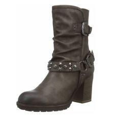 Tamaris Highheels Damen Schuhe Boots Stiefelette Gr 40 cigar metallic braun