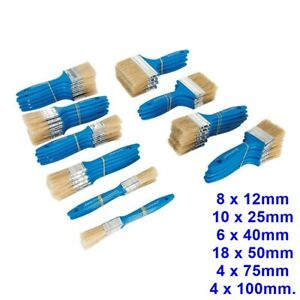 Silverline Disposable Paint Brushes, Paint Brush,ALL SIZES & QUANTITIES,Bulk Buy