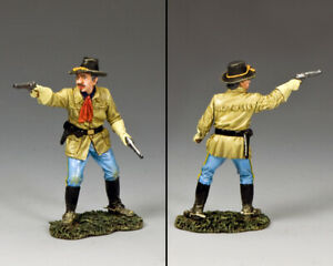 KING & COUNTRY THE REAL WEST TRW126 ERROL FLYNN'S 7TH CAVALRY GRORGE CUSTER