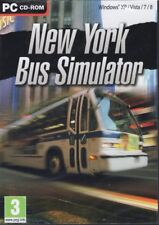 New York Bus Simulator (PC Sim Game) Drive your bus thru NY (Win 8/7/Vista/XP)