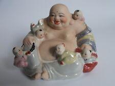 Vintage ...  Ceramic Buddha Fertility Statue!!