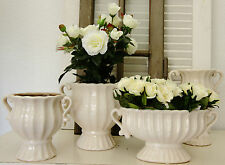 Deko-Blumentöpfe & -Vasen im Shabby-Stil aus Keramik