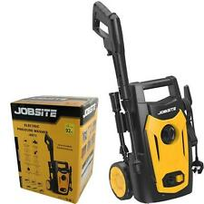 Jobsite 1400W Electric Pressure Washer High Power Jet Wash Cleaner 105bar