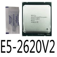 Intel Xeon E5-2620 V2 E5-2620V2 2.10GHz 6Core LGA2011 Processor