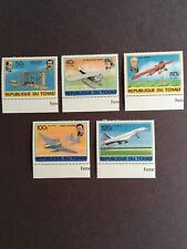 History of Flight Stamps from Republique Du Tchad