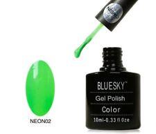 Bluesky UV LED Soak Off Nail Polish Neon 02 Lime 10ml