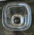 "Orrefors Heavy Crystal Glass Vase signed ""used"""