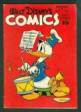 Walt Disney Comics & Stories #86-Golden Age 1947; Donald Duck Vintage; Dell
