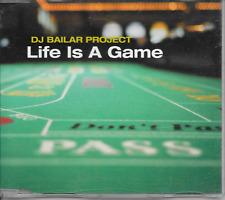 DJ BAILAR PROJECT - Life is a game CDM 3TR Trance 2001 (MOSTIKO) Belgium