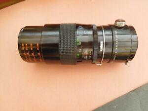 Vivitar Series 1 (Tokina) 90 mm f2.5 macro and Converter Nikon Fit