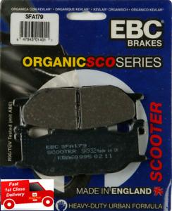 Yamaha YP 400 Majesty 2004 EBC Organic FRONT Disc Brake Pads SFA179 X1 Set
