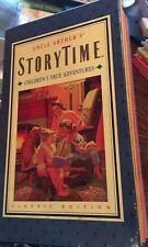 Uncle Arthur's Storytime Children's True Adventures Boxed book Set of 3 HC! Pics