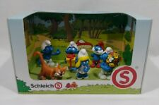 Schleich 2010 The Smurfs 5 Figure Boxed Set Toy Collectible Germany New In Box