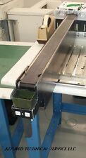 Universal Instruments Reject Belt Conveyor 45651503 powered up, guaranteed