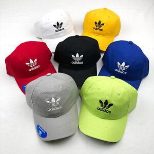 Adidas Men's Originals Trefoil Adjustable Strap-Back Hat Cap