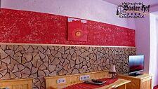 10 m² Spaltholz Klinker Wandverkleidung Wanddesign Holzfliese  Klinker Holz