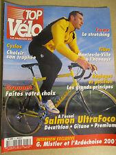 TOP VELO N°47: FEVRIER 2001: LE STRETCHING - GROUPES FAITES VOTRE CHOIX - SALMON