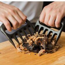 2PC a tiré de porc broyeur viande griffes d'ours handler déchiquetage forks fumé