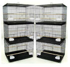 NEW Lot of 6 Aviary Breeding Breeder Bird Cages 24x16x16