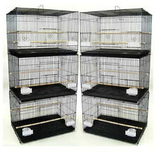 "NEW Lot of 6 Aviary Breeding Breeder Bird Cages 24x16x16""H--#400 - 248"