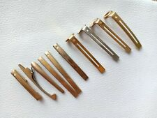 10PCs Sheaffer Ballpoint, Fountain Pen Parts Mixed Clips For Restoration Only