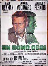 manifesto 2F film W.U.S.A. - UN UOMO OGGI Paul Newman Stuart Rosenberg 1971