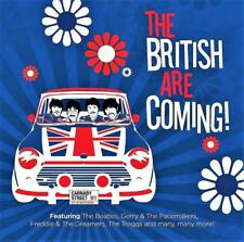 THE BRITISH ARE COMING! - VARIOUS ARTISTS (NEW SEALED CD)