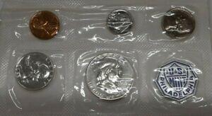 1955 United States Silver Proof Set Flatpack Including Original Mint Envelope