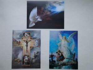 3D Lenticular Moving Images Effect Picture ~ Religious (Choice of 3)