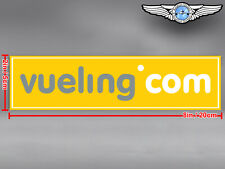 VUELING RECTANGULAR LOGO STICKER / DECAL