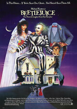BEETLEJUICE 1988 MOVIE POSTER, A3 POSTER