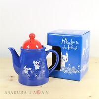 Pokemon Center Original Pikachu in the forest Tea Pot Ceramic Made in Japan