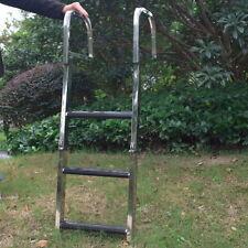 3-Step 304 Stainless Steel Ladder Dock Ladder Swimming Pool Ladder For Marine