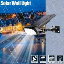 17LED Solar Wall Street Light Dimmable PIR Motion Sensor Outdoor Garden Lamp US