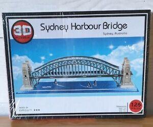 3D Puzzle Classic Building Sydney Harbour bridge Jigsaw Toy Gift 126 pc