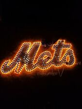 "New York Mets Beer Man Cave Game Room Neon Electric Light Sign 46""x24"""