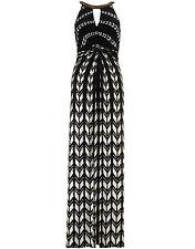 Monsoon Geometric Sleeveless Maxi Dresses for Women